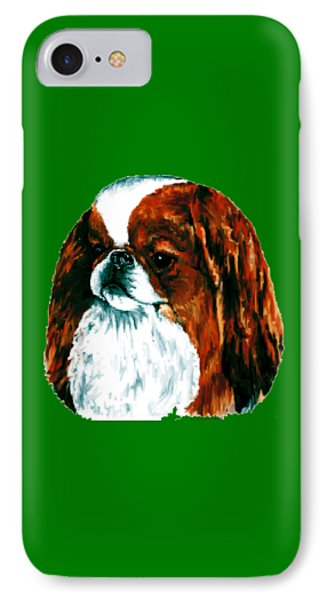 Japanese Chin, Sable IPhone Case