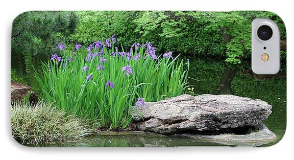 Japanese Gardens - Spring 02 IPhone Case