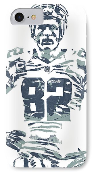 Jason Witten Dallas Cowboys Pixel Art IPhone Case