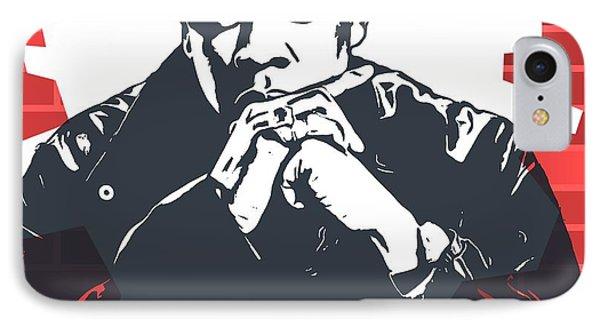 Tribute iPhone 8 Case - Jay Z Graffiti Tribute by Dan Sproul