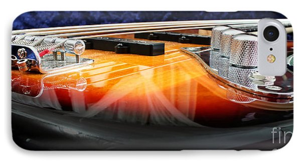 Guitar iPhone 8 Case - Jazz Bass Beauty by Todd Blanchard