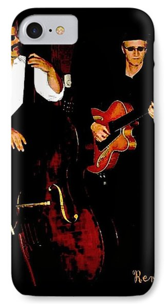 Jazz Musicians IPhone Case