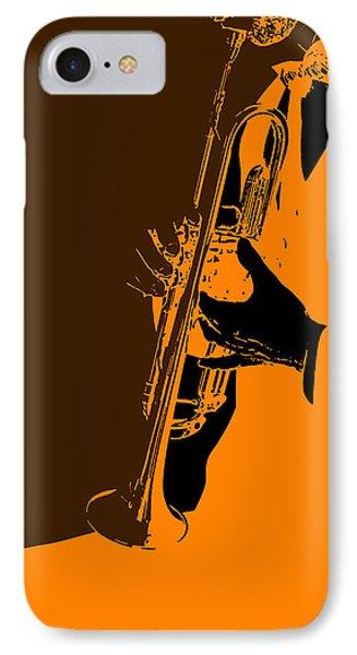 Saxophone iPhone 8 Case - Jazz by Naxart Studio