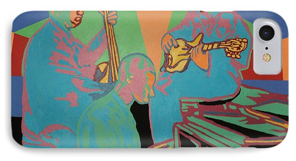 Jazzamatazz Band IPhone Case