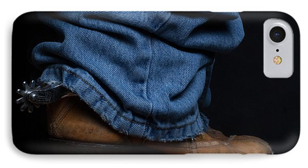 Jeans And Cowboy Boots IPhone Case