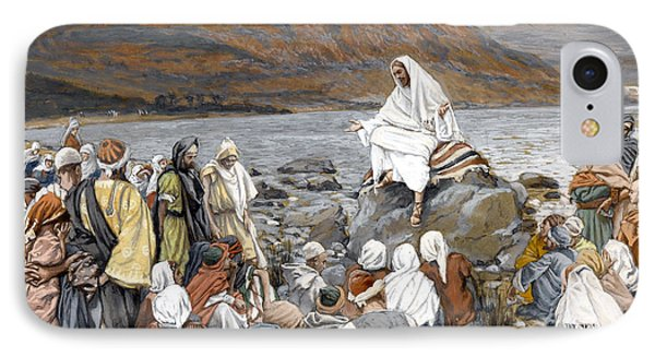Jesus Preaching IPhone Case