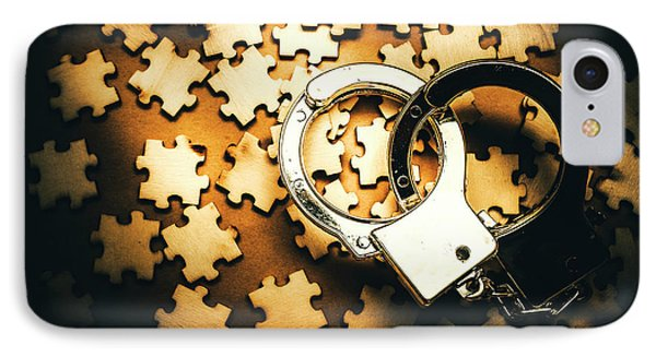 Jigsaw Of Misconduct Bribery And Entanglement IPhone Case