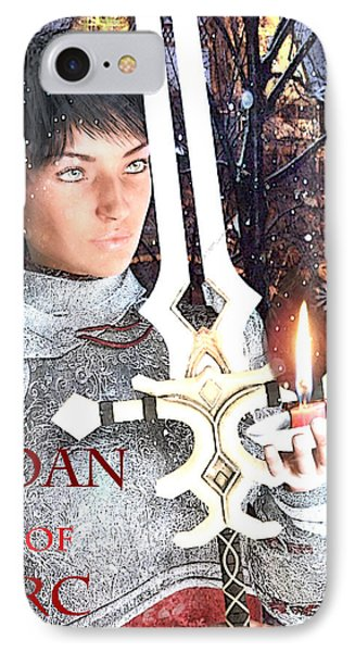 Joan Of Arc Poster 2 IPhone Case