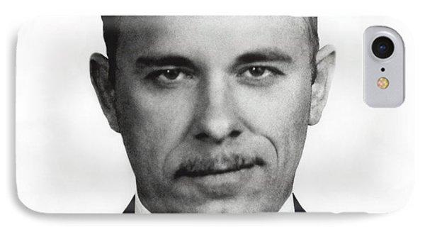 John Dillinger - Bank Robber And Gang Leader IPhone Case