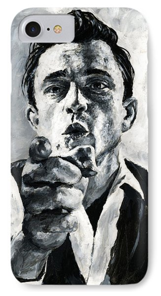 Johnny Cash II IPhone Case