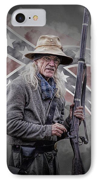 Johnny Reb IPhone Case