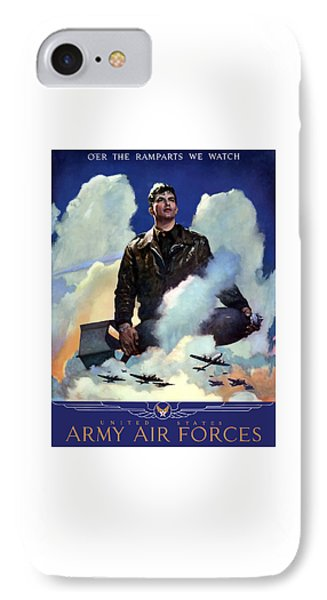 Join The Army Air Forces IPhone Case