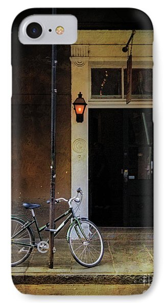 IPhone Case featuring the photograph Jolt 709 Bicycle by Craig J Satterlee