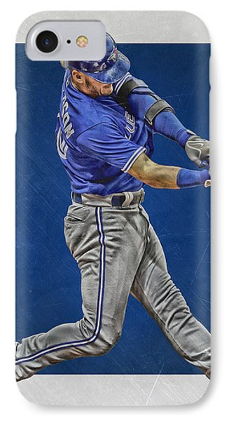 Josh Donaldson Toronto Blue Jays Art 2 IPhone Case