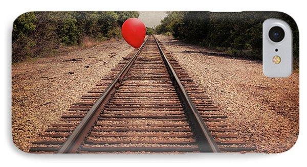 Train iPhone 8 Case - Journey by Tom Mc Nemar