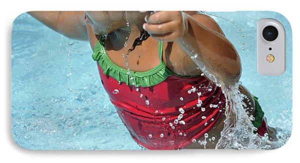 Joy Of Swimming IPhone Case
