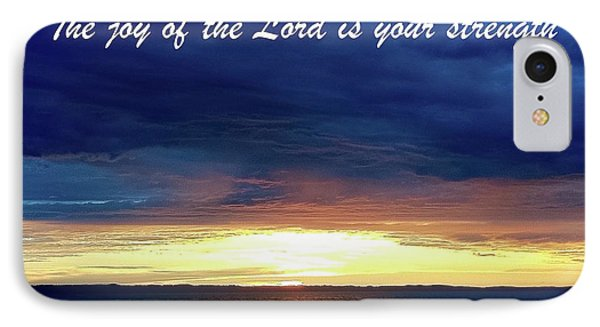 Joy Of The Lord IPhone Case