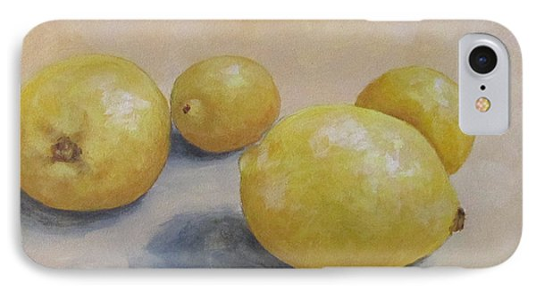 June Lemons IPhone Case
