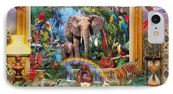 Jungle Coming IPhone Case