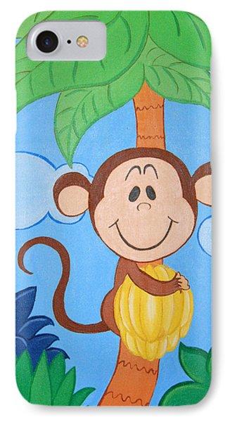 Jungle Monkey IPhone Case