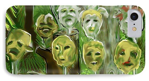 Jungle Spirits IPhone Case