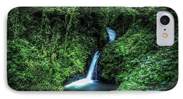 Jungle Waterfall IPhone Case