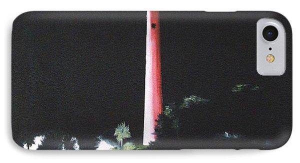 Jupiter Lighthouse At Night IPhone Case