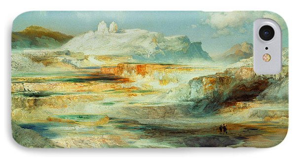 Jupiter Terrace  Yellowstone IPhone Case