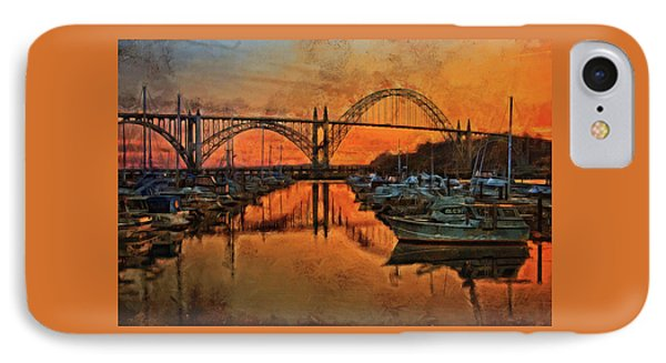 Just After Sunset On Yaquina Bay IPhone Case