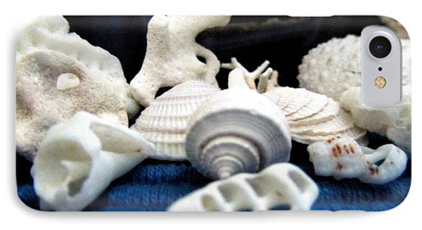 Just White Seashell 1 IPhone Case