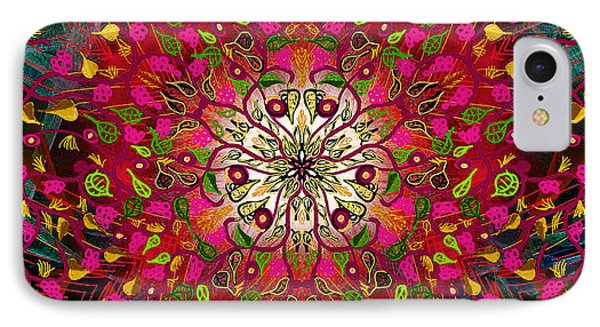 Kaleidoflower#7 IPhone Case