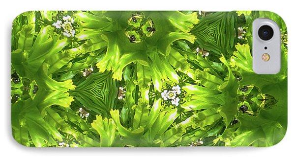 Kaleidoscope Flower IPhone Case