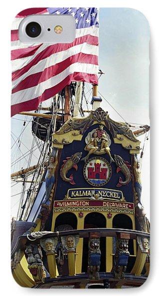 Kalmar Nyckel Tall Ship IPhone Case