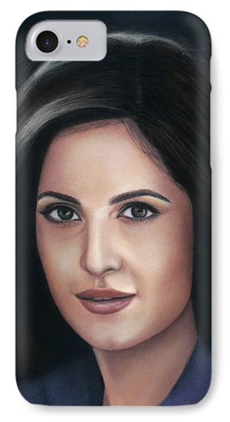 Katrina Kaif - Pastel IPhone Case