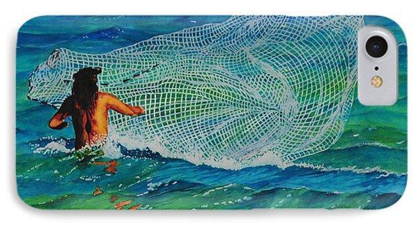 Kauai Fisherman IPhone Case