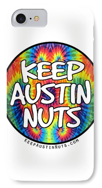 Keep Austin Nuts IPhone Case