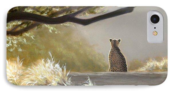 Keeping Watch - Cheetah IPhone Case