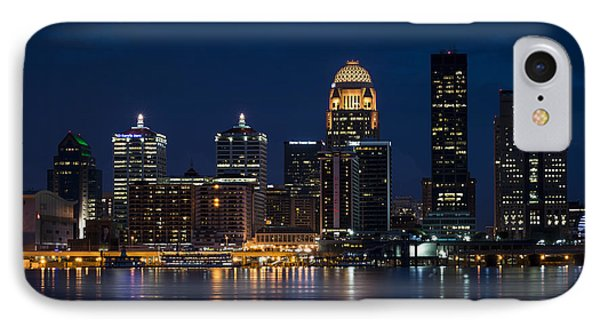 Louisville At Night IPhone Case