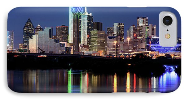 Kevin's Dallas Skyline IPhone Case