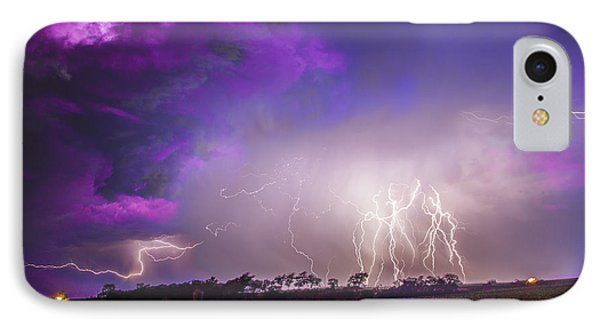 Nebraskasc iPhone 8 Case - Kewl Nebraska Cg Lightning And Krawlers 038 by NebraskaSC