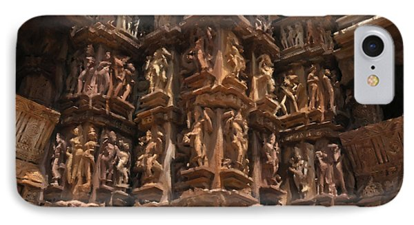 Khajuraho Temples 3 IPhone Case