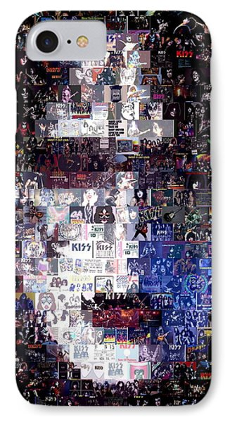 Kiss Ace Frehley Mosaic IPhone Case