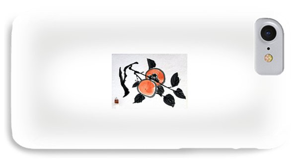 Kissing Persimmons IPhone Case