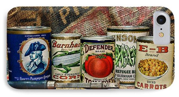Kitchen - Vintage Food Cans IPhone Case