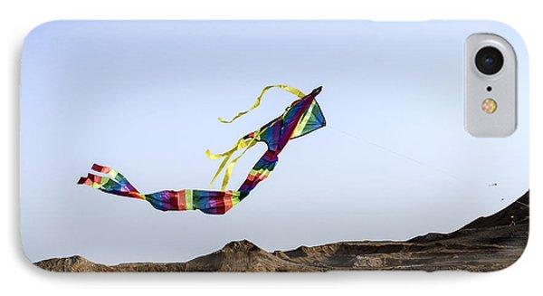 Kite Dancing In Desert 02 IPhone Case