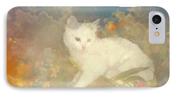 Kitty Art Precious By Sherriofpalmsprings IPhone Case