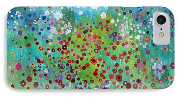 Klimt's Garden IPhone Case
