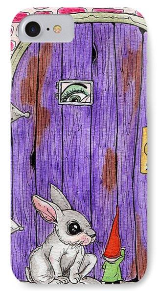 Knock Knock IPhone Case