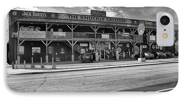 Knuckle Saloon Sturgis IPhone Case