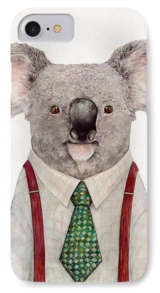 Portraits iPhone 8 Case - Koala by Animal Crew